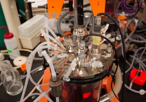 A bioreactor the basic tool used to grow synthetic ingredients. Photo: Matt Janicki